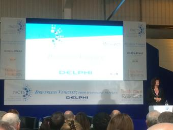 UK MP Claire Perry MP giving keynote at Thatcham @PACTS: