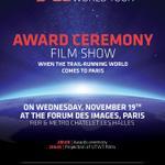 El 19 de noviembre es la entrega de premios del UTWT en París. Se podrá seguir en directo, en streaming. @ultratrail http://t.co/wIz4E6Kma8