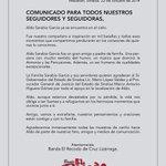 Comunicado Aldo Sarabia Q. E. P. D. http://t.co/8vCiHedr46