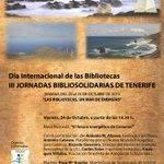 """RT @BibliotecaULL: En el #DiadelaBiblioteca debatimos sobre """"El futuro energético de Canarias"""" http://t.co/4EWjCRUHdx con @PROBITbiblio http://t.co/b2VgyNqMNi"""