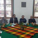 """""""@ManuelCota: En Reunión con los distinguidos integrantes de la Comisión de Honor y Justicia de @CNC_CEN http://t.co/Ipo9Rv0vPK"""" #Nayarit"""
