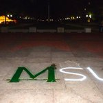 You might get a harsh reminder that its rivalry week as you walk to class today. http://t.co/TdpqVAstUD http://t.co/YMScJ9DRpr