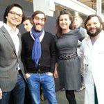 Léquipe de @usineIO futurs opérateurs du fablab de la halle et finalistes des grands prix de lInnovation de #Paris http://t.co/sMFDIE77U9