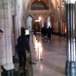 YouTube video from Globe reporter captures exchange of gun fire in Parliament Hill building http://t.co/9xkkV37UBm http://t.co/YYlwz5HdBa