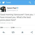 RT @ThePEAK: Guys!!! Jesse Pinkman needs our help! Best pizza place in #Vancouver...GO! - @KevinLimOnAir & @Sonia_Sidhu http://t.co/5dua1YQjt5
