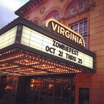 "RT @thevirginia: We couldnt resist sharing a pic of the marquee while ""Zombiefest"" was up! http://t.co/kxUD7Hua7h"