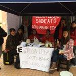 @biobio sindicato Scotiabank en huelga #ovalle http://t.co/1WpFZlbgwF