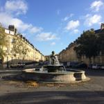 Nice slice of autumnal sun down Great Pulteney st this morning #VisitBath http://t.co/XzCN9NYSR0