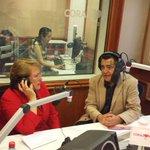 La Presidenta Michelle Bachelet sigue conversando con @leocaprile en la @RadioCorazonFM http://t.co/kGZbeNW4hW #fb http://t.co/tKfM60JRK9