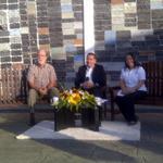 """#150AñosJGH Programa """"Al Día con Rangel Silva"""" desde el Santuario de nuestro médico José Gregorio Hernandez!!! http://t.co/Ao6dqFfzdC"""