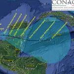 RT @conagua_clima: Trayectoria pronóstico de la #DTNUEVE a las 07:00 horas http://t.co/W3Mfm2XoJY