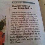 Gracias al @elcorreo_alava por la publicación en su diario de hoy. @CDVitoria1945 @CDFSanmartin @alvaromendigure http://t.co/lQONw2fuU6