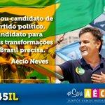Aécio é o único candidato que vai fazer as transformações que nosso país precisa! #VemPraRua http://t.co/A7ul9XKi31
