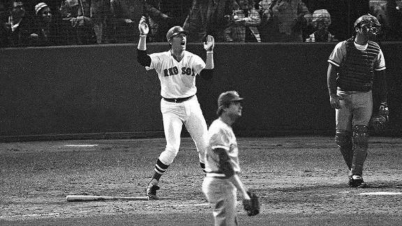 39 years ago on this date, a Carlton Fisk home run sent a region in a frenzy. http://t.co/HseGTn04zl http://t.co/j8N6UIgH1K