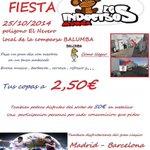 RT @indecisosMurga: Nominamos a todas ls #murgas #comparsas #artefactos #gruposmenores y todo #Badajoz.El premio es1 gran tarde d fiesta! http://t.co/ka91gXUi3d