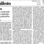 Ciccio Ferrara @ilmanifesto: #MarcoDoria non può essere il capro espiatorio x #AlluvioneGenova. Basta polemiche. #Sel http://t.co/xgpWqzKUS6