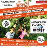 RT @infobdg: Suka lari? Cinta lingkungan? Ingin punya GoPro? Let's join #FunRun2014 at Tahura, 1/11 @charitree2014 - http://t.co/qKMjRYAWbW