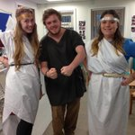 RT @Evelien_Bracke: @SwanseaUni @SwanseaHistory students dressing up their pupils - and themselves! http://t.co/109psCBp5u