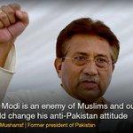 RT @dawn_com: Modi an enemy of Pakistan and Muslims: Musharraf | http://t.co/Y5JjffU2vv http://t.co/JImjzZ9KZk
