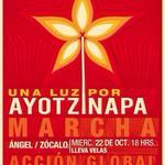 La marcha de esta noche en la Ciudad de México por Ayotzinapa será del Ángel al Zócalo 18h #EPNBringThemBack http://t.co/r8AitDNjUp