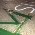 """@SInow: Michigan State fans successfully vandalized Michigans block M http://t.co/VVHbcSMSTQ http://t.co/c39FG33Eu0"" #StayClassyMSU"