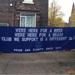 RT @Awaydays23: Everton flags ready for Lille tomorrow night #EFC http://t.co/eEoDOFeZEt
