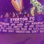 RT @Awaydays23: Everton flags in Lille tonight #EFC http://t.co/9lMnIHzlKc