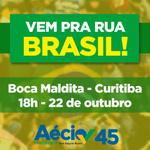 Hoje temos um encontro em Curitiba para mostrar nosso apoio a Aécio Neves A hora da mudança é agora! #AecioPeloBR45IL http://t.co/qbQUq5vick