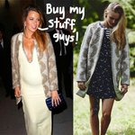 #BlakeLively's incredible pregnancy wardrobe mostly comes from one place! Can you guess where? http://t.co/2wl3DzojmD http://t.co/aPwc8HXOOa