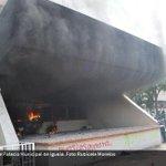 RT @lajornadaonline: En imagen: Quema de Palacio Municipal de #Iguala. Cobertura al minuto: http://t.co/zV97P8xaOy http://t.co/KxkkCRLW5C