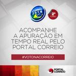 Durante o domingo traremos todas as informações sobre este 2º turno de eleições. Não fique de fora! #votonacorreio http://t.co/q0GW2eVHA3