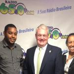 RT @Heffernan2014: Great to meet Frilei & Ilma @radio650am this am & always good to see Gustavo at the Tropical Cafe! #mapoli #matreas http://t.co/mcfg00LLh5
