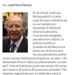 Si José Martí Gómez no existís lhauríem dinventar. Breu bitllet sobre la pasta de Josep-Lluís Nuñez (y Navarro). http://t.co/54U3p1MXz7