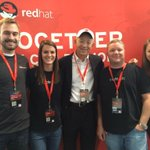 RT @RedHatJobs: Red Hats co-founder @CaretakerBob stopped by the #RedHat booth at @AllThingsOpen! #ATO2014 http://t.co/1vnvlKO5vl