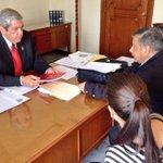 Entregamos al Secretario de Ayuntamiento Luis Fernando Gómez, el Reporte de Incidencia Delictiva en León y el estado. http://t.co/w38IXSlKEN