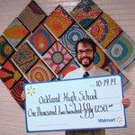 Oakland Teacher Receives $1,250 From Walmart: Oakland High School teacher, Tim Nance, was… http://t.co/kyzhlP2rqo http://t.co/oMh15pMYFY