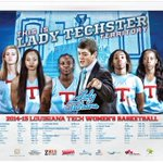 Here is the 2014-15 @LATechWBB schedule poster. Stop by the ticket office & get one today. #LadyTechsterTerritory http://t.co/J5LurK21uL