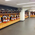 Heres a look at the @ErieOtters dressing room prior to tonites game at FNC in Buffalo: http://t.co/oM2sjGQrdA
