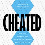 RT @PotomacBooks: Leaked cover of forthcoming book CHEATED by @paperclassinc @jaysmith711 #UNC http://t.co/urBhscnO7B