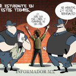 En estos tiempos ser estudiante es un peligro. Te dejamos el #cartón de @Qucho #TodosSomosAyotzinapa http://t.co/Em3loqAZp6