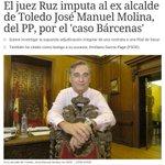 RT @dryct40: Más imputados por corruPPción, ahora el alcalde de Toledo. Han usado al país como un cortijo en sus negocios http://t.co/15FQvD3pXc