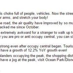 As things quieten down in MongKok, a Redditor reflects on the benefits of the #OccupyHK https://t.co/Sgr2HaMMWx http://t.co/pY6r1x61sY