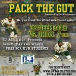 We are only 2 days away from #PackTheGut! Reminder to #UVM students: Tix are FREE w/ a student ID! @uvmvermont #VCats http://t.co/bIj8APfQoC
