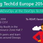 RT @volkerw: Ops, pls meet Dev. Dev pls meet Ops. At #TEE14 #TalkDevOps http://t.co/Y7l9erRj6t