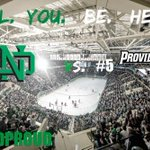 RT @TheREA: Are you ready for the BIGGEST series in college hockey this weekend? BRING THE NOISE NORTH DAKOTA!!! #UNDPROUD http://t.co/rIJERDleyC