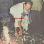 RT @vasantshetty81: A rare photo of Dr. Rajkumar bursting crackers. #Kannada http://t.co/U0GwT6J6Io