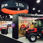 RT @Mahindra_USA: Hanging out at the @GIE_EXPO thru Fri! Stop by booth 348 and check out this big red tractor. #MahindraTerritory http://t.…