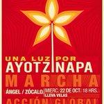 RT @UNAM_FCPyS: Por si gustan ir, recuerden llevar velas #TodosSomosAyotzinapa http://t.co/wCC6LNek1P