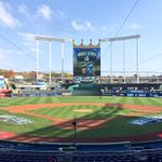 RT @MLBONFOX: There is nothing prettier than a baseball stadium. #WorldSeries http://t.co/IPxCu7zXLM