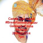 RT @yogigade: Candle light march 24oct atgateway of india for #RameshJadhav. Spread the word through fb,Whatsap,etc.@Rajput_Ramesh http://t.co/2NW8umngoo